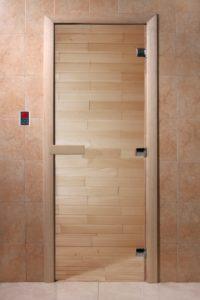 Дверь для саун прозрачная